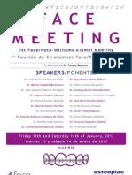 FACE Meeting. 2012