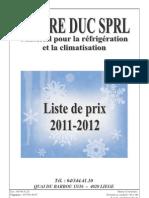Pierre Duc 2011-2012