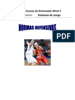Normas Defensa Individual