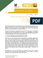 INDICADORES SETORIAIS - ANO 1 - Nº 01 - JULHO DE 2011