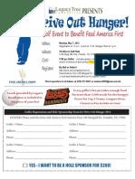 2012 Golf Tournament Flyer