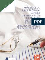 Análisis de la jurisprudencia género sensitiva en los dictámenes emitidos por el Comité de Derechos Humanos de Naciones Unidas