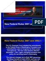 Federal Rules 3001 and 3002-1 Rev