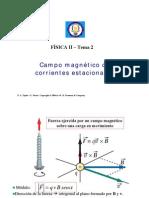 Campo magnético de Corrientes Estacionarias