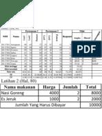 Microsoft Excel 1 _ Yulius Arianto _ 11023172_1C