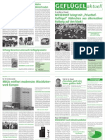 Gefluegel Aktuell - Wiesenhof Newsletter November 2011