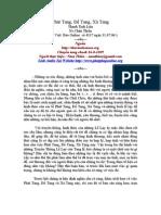 Phat Tang de Tang Va Xa Tang - Ns Chan Thien