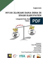 Studi Alokasi Dana Desa