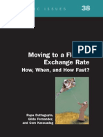 Moving to a Flexible Exchange Rate-How, When, And How Fast