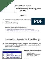 1. Association Rule Mining