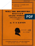 45716218 Lenin Will the Bolsheviks Retain State Power