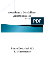 Doctrinas y Disciplinas Apostólicas III