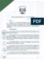 Plan 2011 - 2016 RN Tambopata