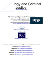 McNEILL a Desistance Paradigm for Offender Management