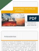 Fondo de Desastres Naturales (Fonden)
