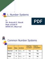 Lecturer1 Number System