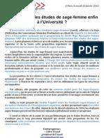 CDP Anesf 2012-01-10 PPL Poletti études sage-femme