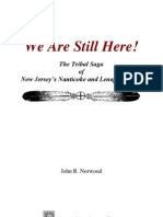 We Are Still Here Nanticoke and Lenape History Booklet