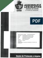 PL 0078/12 - Vencimentos e Salários da Educação no Estado de Goiás