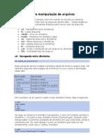 Linux - Comandos para manipulação de arquivos