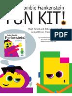 Robot Zombie Frankenstein Activity Kit