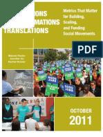 Transactions Transformations Translations
