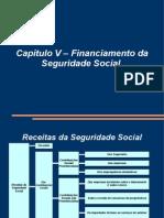 Curso de Direito Previdenciário - Professor Maycon - Cap V - Financiamento da Seguridade Social