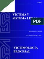 Unidad 4.1 Víctima y Sistema Legal