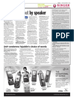 TheSun 2008-11-07 Page08 at the Dewan Rakyat Two Ordered Out by Speaker