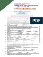 Chemical Thermodynamics IIT Part 1