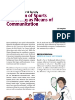 Attraction of Sports Marketing as Means of Communication