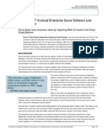 How Cisco IT Evolved Enterprise Social Software and Collaboration