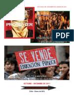 Análisis Internacional-Nacional (Chile), Octubre-Diciembre 2011