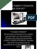 Conectores y Puertos de Una Pc