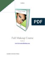 Full Makeup Course Handbook