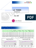 Technical Information on Drum Matching LG Chem