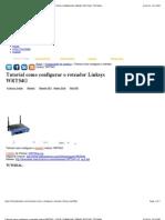 Tutorial como configurar o roteador Linksys WRT54G - DICAS, DOWNLOAD, DRIVER, NOTÍCIAS, TUTORIAL