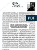 Interview With Steve McQueen