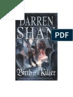 El Nacimientode Un Asesino - Darren Shan