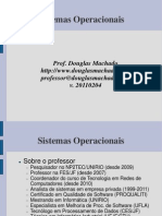 Sistemas Operacionais Unidade 01 Introducao 20110319