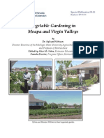 Vegetable Gardening in Moapa and Virgin Valleys