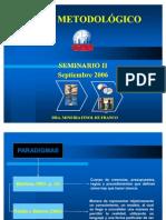 Seminario II MARCO METODOLÓGICO doctorado