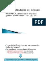 Estructuralismo 2011 Martinet