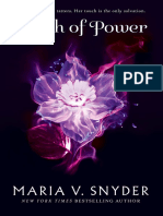 Touch of Power by Maria V. Snyder - Chapter Sampler