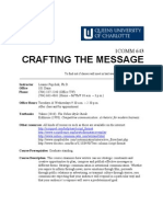 Crafting the Message Syllabus