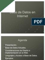 Base de Datos en Internet