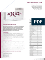 AXION Product Sheet