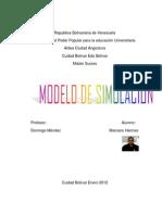 Modelos de simulación