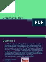 Citizenship Test Final