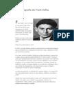 Biografía de Frank Kafka
